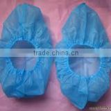 wholesale eco-friendly blue medical disposable pe/cpe/pp nonwoven shoe cover machine made