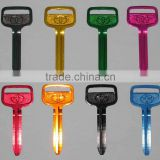 coloured key blank door key blank keys motors keys colors key blank ultra light keys beautiful keys auto colors key