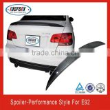 Carbon Fiber Rear Boot Spoiler Wings Lips Fit For BMW E92 Performance Sedan 08-13 rear trunk spoiler