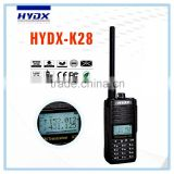 Walkie talkie,Cheap walkie talkie,HYDX-K28 cheap vhf radio transceiver Dual Band walkies talkies waterproof intercom interphone
