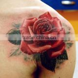 2016 New design high fashion waterproof Valentine's rose tattoo sticker