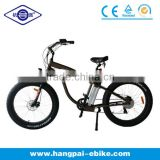 2014 electric fat tire beach bike electric bicycle beach cruiser electric fatbike(HP-E015)