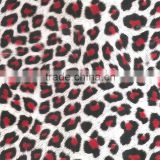 TSAUTOP 0.5M/1M width Red Leopard Water Transfer Printing Hydro Graphics Film