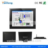 1024x768 resolution 15inch android industrial touch screen panel pc with 5-wire resistive touchscreen