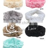 New Design lace braid Women's Graphic Braided Headband, band Embroidery Lace trim hat cap