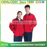 Good quality industrial working safety uniform security safety worker uniform customized