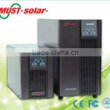 must solar 110/115/120VAC 220/230/240VAC high frequency online UPS 1000W/2000W/3000W with and without battery