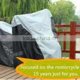 black and silver cover tent motorbik/cover for motorhom with high quality and free sample
