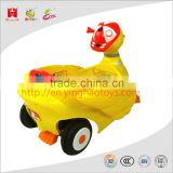 6V 4AH battery kids toys cute duck design baby learning walking car electric ride on car