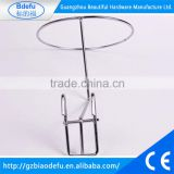 Metal wire net shelf hat holder hook hat ball hair hanger holder Garment supermarket shelf display rack accessories