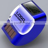 Solar powered multifunction precise pedometer