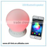 Factory direct supply!New arrival ! Intelligent bluetooth Night Light Lamp Speaker Smart LED Lamp FM recorder Speaker