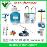 Factory all complete sets swimming pool products,including cleaning system,pool ladder, pool skimmer