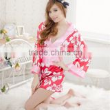 Factory direct sale sexy maggie hula broken beautiful Japanese kimonos uniform temptation lingerie sleepwear