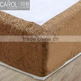 OEM wholesale 100%polyester bed skirt