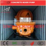 Diesel Mobile Hydraulic Concrete Mixer with Pump, Mini Concrete Mixer Pump for sale, Agent wanted for South America Markets