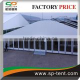 20x30m Arched Dome Tent with stylish roof and glass walling system