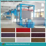 solvent-free PU synthetic leather making machine