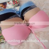 Ladies Latest New Model Fashion Fancy Sexy Push Up Underwire Seamless Invisible Bra Wholesale