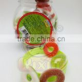 Halal sweet circle fruity gummy candy