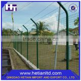 China Supplier Modern Powder Coated Security Folded Steel Garden Solid Metal Fence Panel