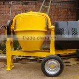 ISO certification JFA-1 a half of bag of cement movable drum mini pump concrete mixer in Algeria