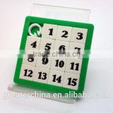 Plastic Sliding Puzzle Game