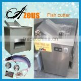 Half-dry and fresh fish slice, strips, block, cubes cutter/flaked fish cutting machine