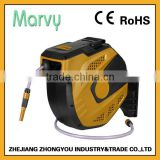 New arrive expanding automatic rewind garden hose reel for 20m
