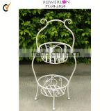 hot!!antique new itemgarden wire plant pot stand