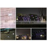 Solar LED Brick Light Waterproof IP68 Solar Powered(Charging) Outdoor Wall Mounted LED Light MS-2600