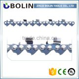 "Bolin manufacturing 1/4"" semi chisel chain for wood carving double cutters chain chainsaw fit for 2500 in high quality"