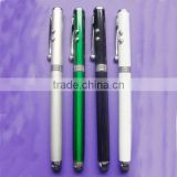 LED touch pen with Laser Pointer + LED Torch + Stylus Pen