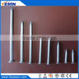 "Premium factory of 3"" steel round head galvanized nails on concrete"