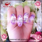 Professional genius 3D flower simple and luxury series nail tips