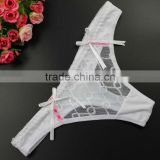 Stock Newest Lace Women's Sey Panties Briefs Bikini Knickers Lingerie Underwear Thongs G-string see through briefs women c strin