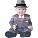 Carnival Costumes Baby Rompers Toddler Business Uniform Costumes