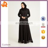 Custom Make New Design Abaya Jilbab Muslim Dress Islamic Long Sleeve Clothing Burka Dress
