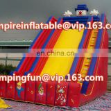 Lively clown inflatable water slide of medium size for children ID-SLM088