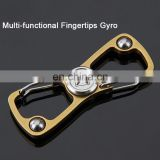 New arrival multi-functional fingertips gyro fidget spinner, stainless steel spiral spinner