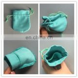 Custom Printed Suede Jewelry Pouch With Handles
