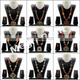 pearl Beaded Necklace -Jewelry fashion Costume Imitation Artificial-Indian Handmade Jewelry- Handicraft Beaded Jewellery