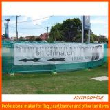 full color digital print cheap mesh fence banner
