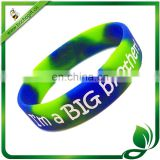 custom camouflage silicone wristband with logo