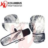 Marble Pattern PU Boxing Gloves