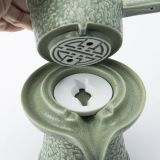 Stone ground tea set