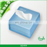 popular Durable ABS plastic facial tissue napkins holder for desk /table