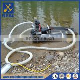 Gold dredging mining machine underwater mining machine