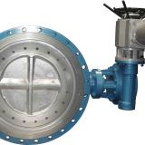 D943H-16C stainless steel electric butterfly valve three eccentric electric hard sealing butterfly valve