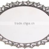 Mirror Finish Round Charger Plate and Serving Tray